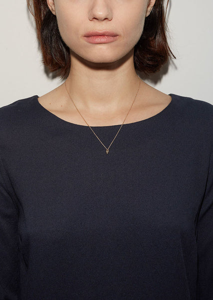 Sophie Bille Brahe Conque D'or Necklace La Garconne