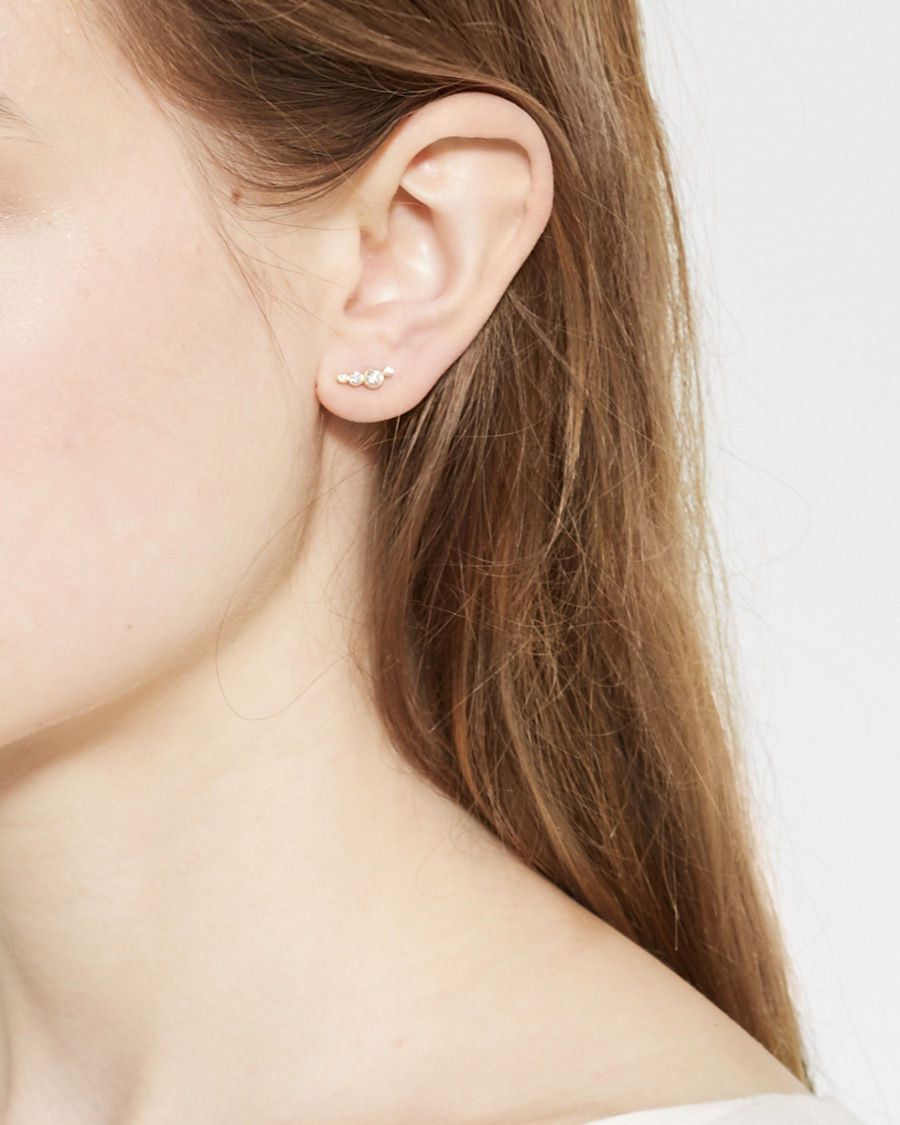 Flacon Diamant Earring