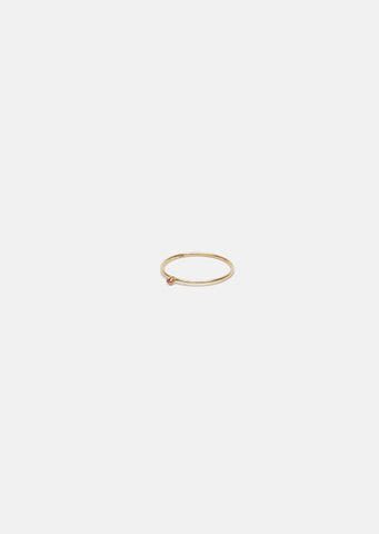 Mini Wire Solitaire Ring