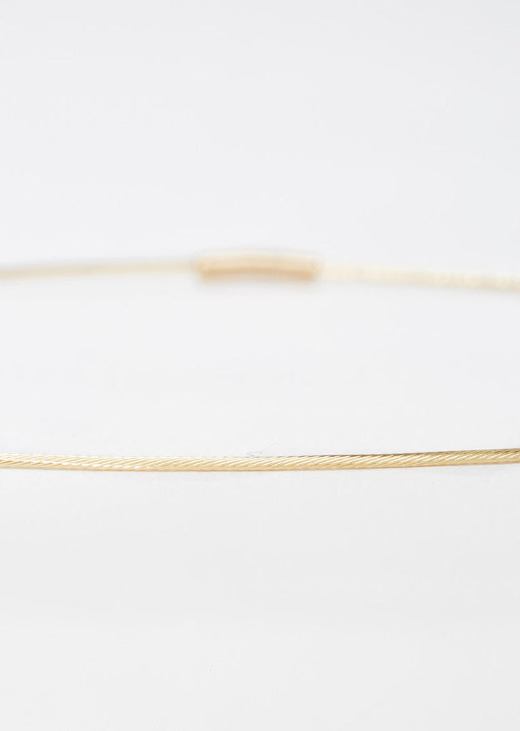 18K Gold Superfine Bracelet