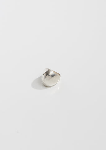 Dome Sterling Silver Ring