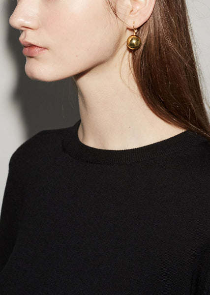 Sophie Buhai Gold Sphere Drop Earrings La Garconne