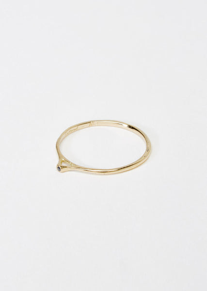 Satomi Kawakita Tiny Point Black Diamond Ring La Garconne