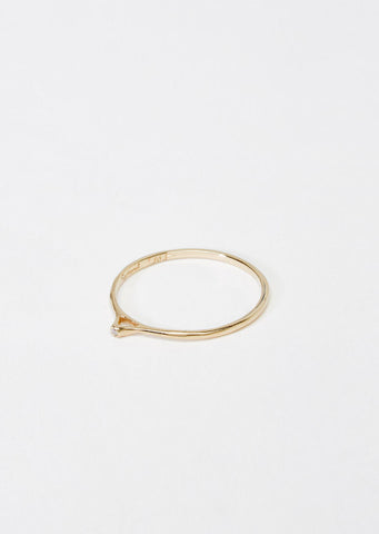 Tiny Point Diamond Ring