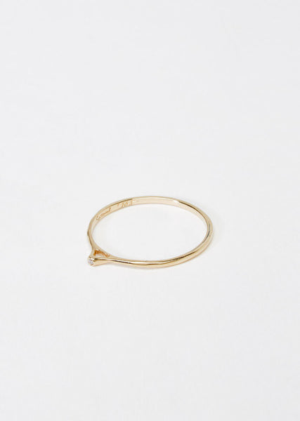Satomi Kawakita Tiny Point Diamond Ring La Garconne