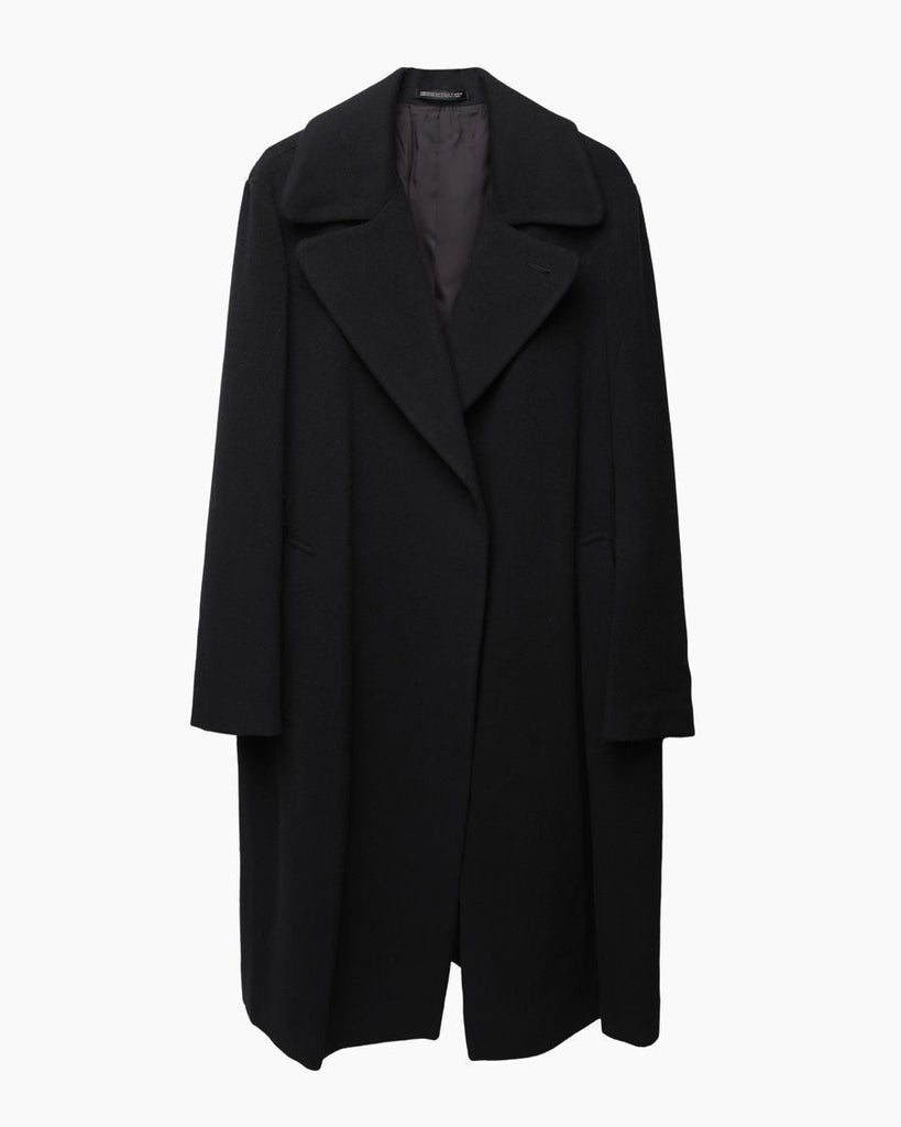Relaxed Wool Coat