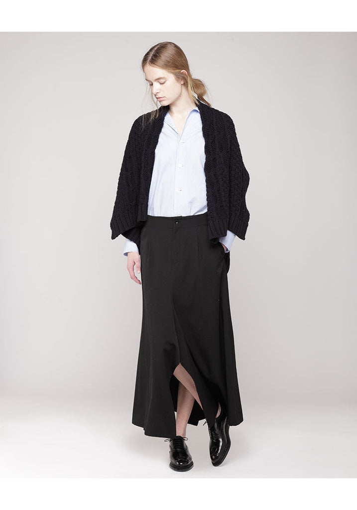 Trouser Slit Skirt