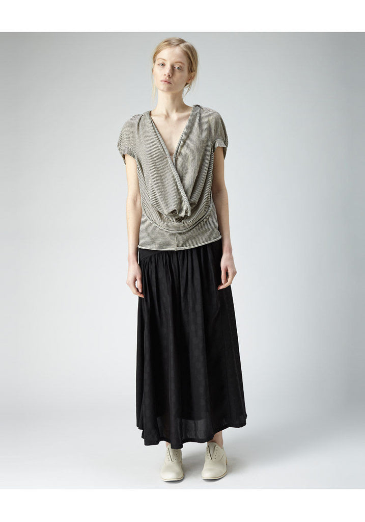 Asymmetric Yoke Skirt