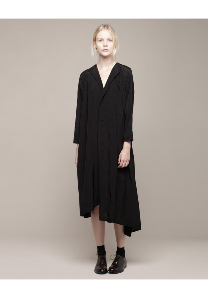 Asymmetry Shirt Dress