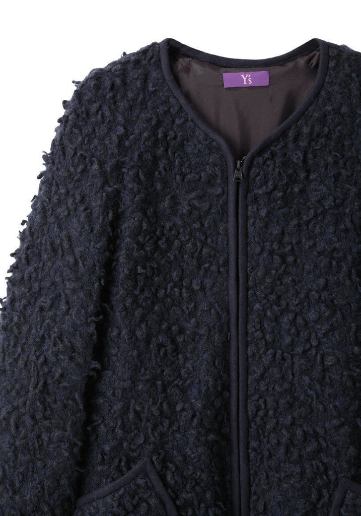 Furry Wool Jacket