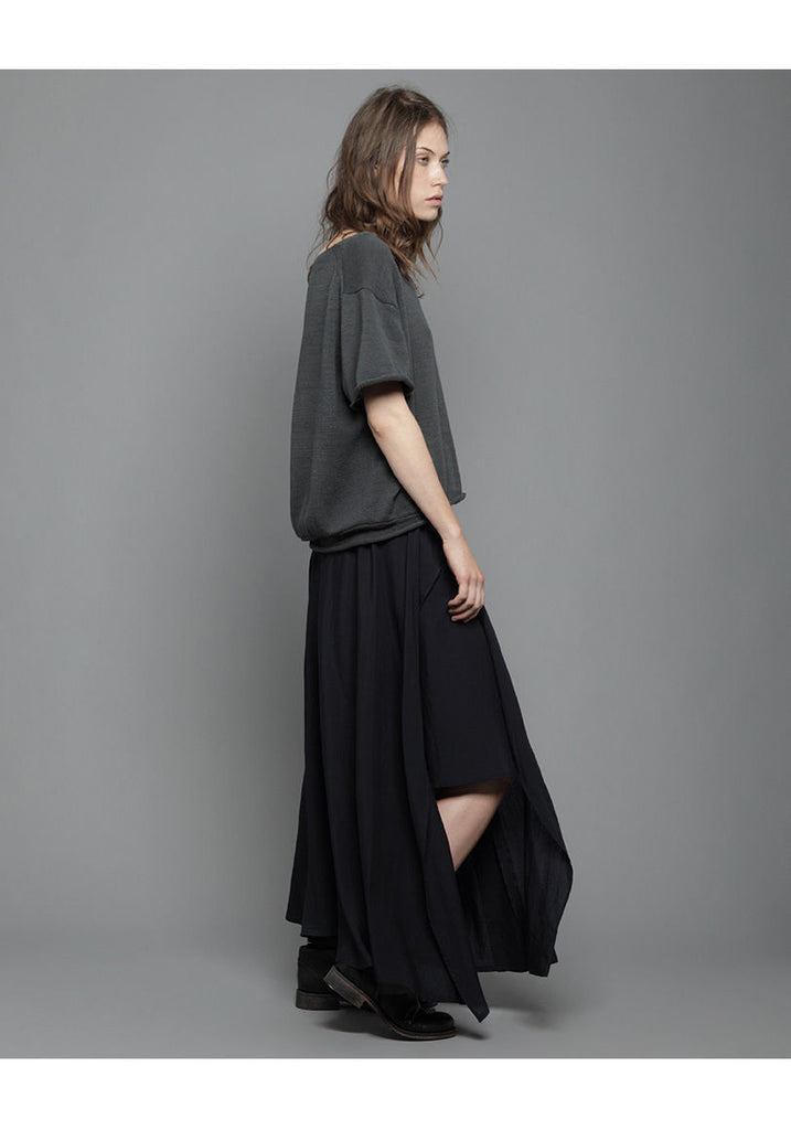 Long Skirt w/ Slit