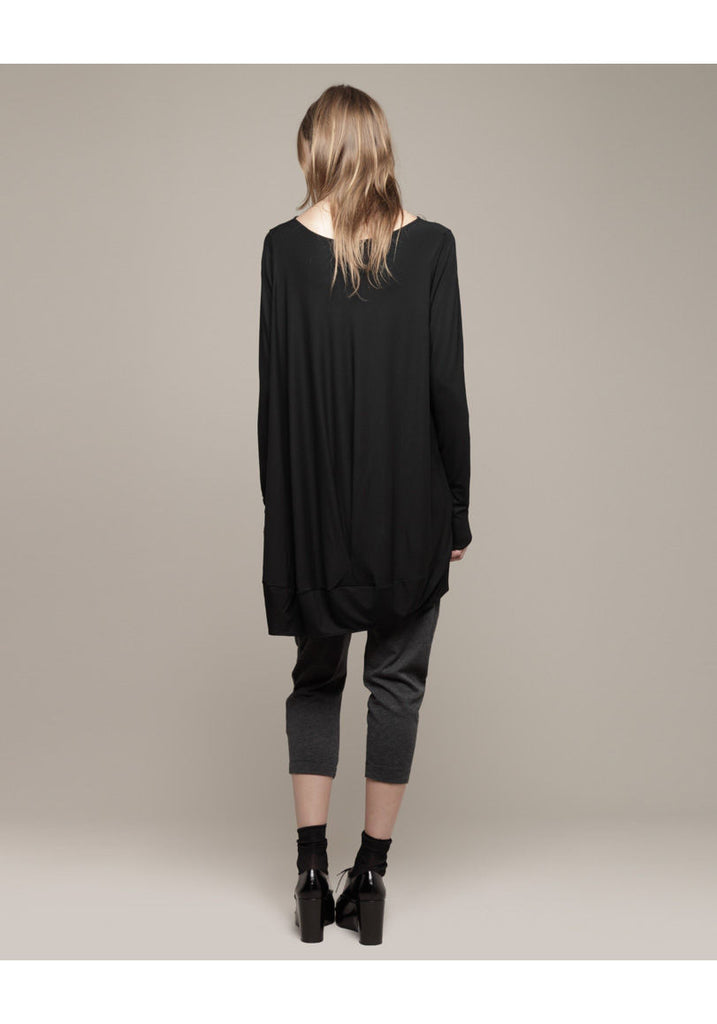 Pleated Cocoon Top