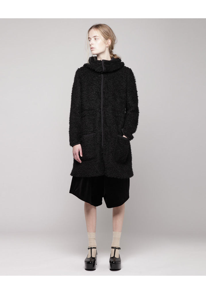 Berber Reversible Hooded Coat