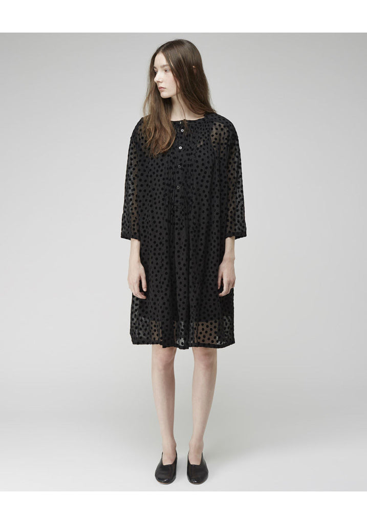 Chiffon Dot Dress
