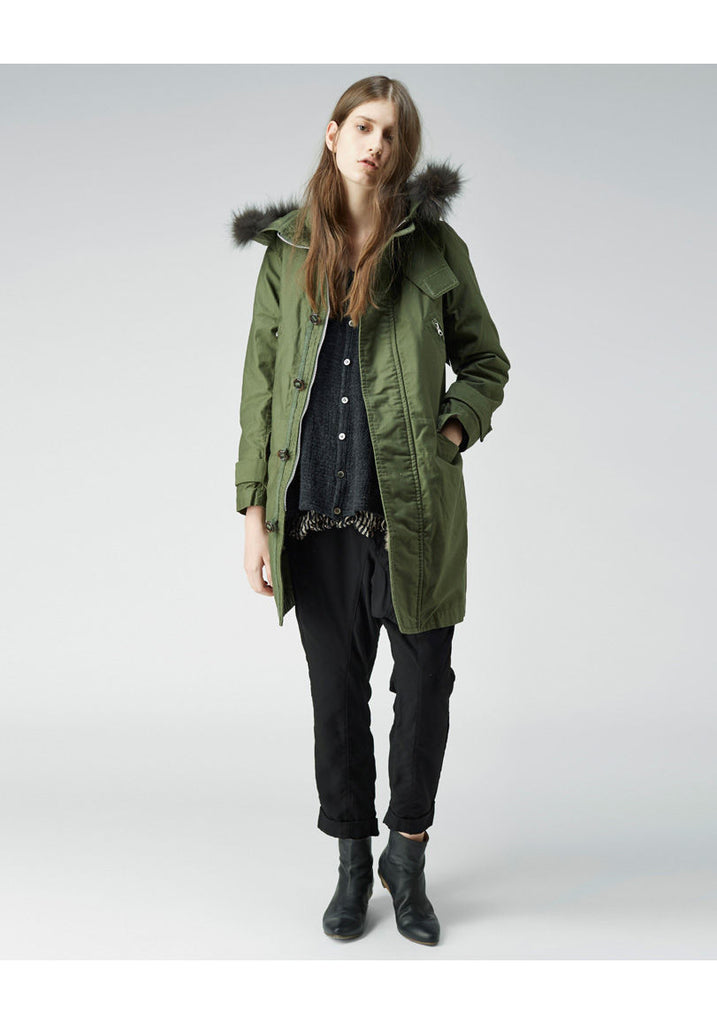 Fur Trim Parka