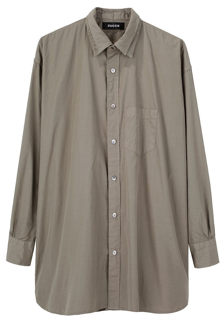 Layered Button Down Shirt