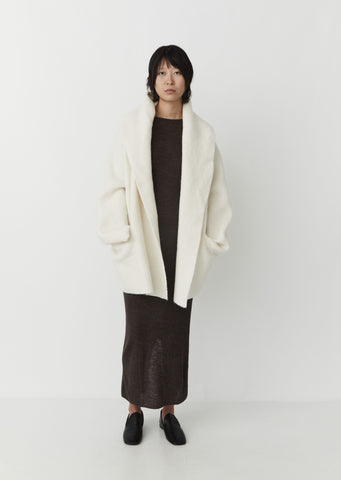 Double Face Coat — White