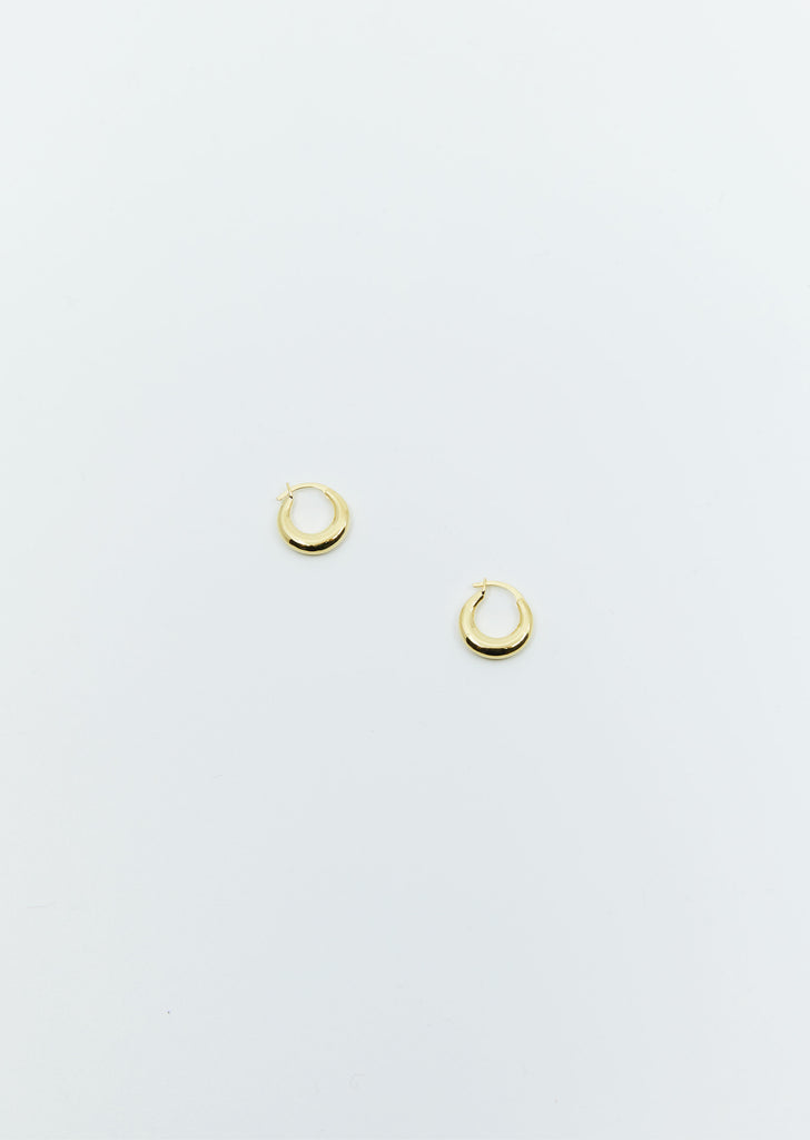 Tiny Essential Hoops  — Gold