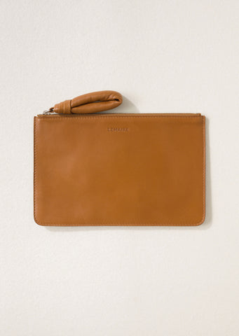 Unisex A5 Pouch — Tobacco