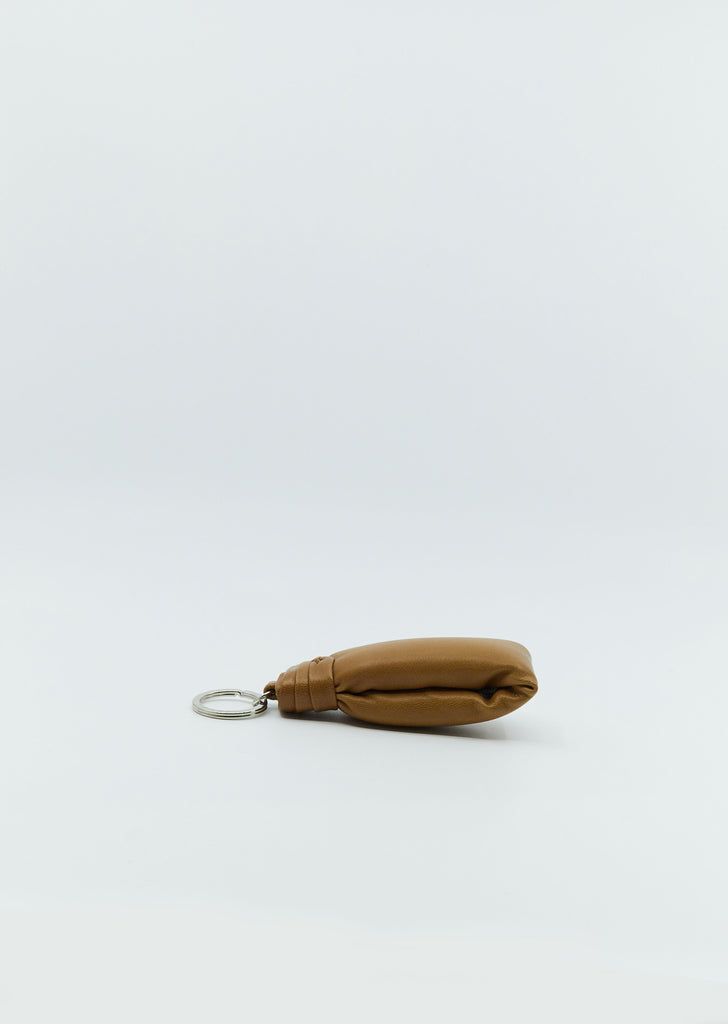 Wadded Key Holder — Tobacco