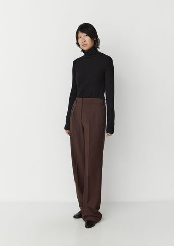 Sbiru Trousers — Chocolate
