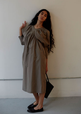 Muisti Silk & Cotton Dress
