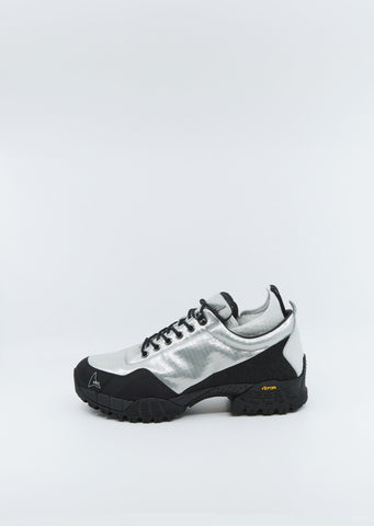 Neal Hiking Sneakers — Silver / Black