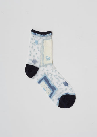 Gabbeh See-Through Socks