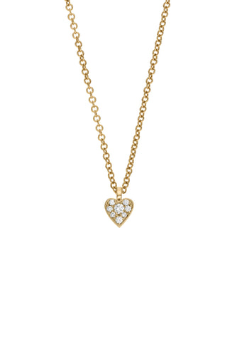 Coeur Diamant Necklace
