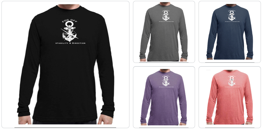 COMPASS & ANCHOR LONG SLEEVE