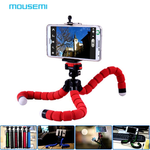 Flexible Octopus Leg Smartphone Holder, Tripod, and Accessories Stand Support