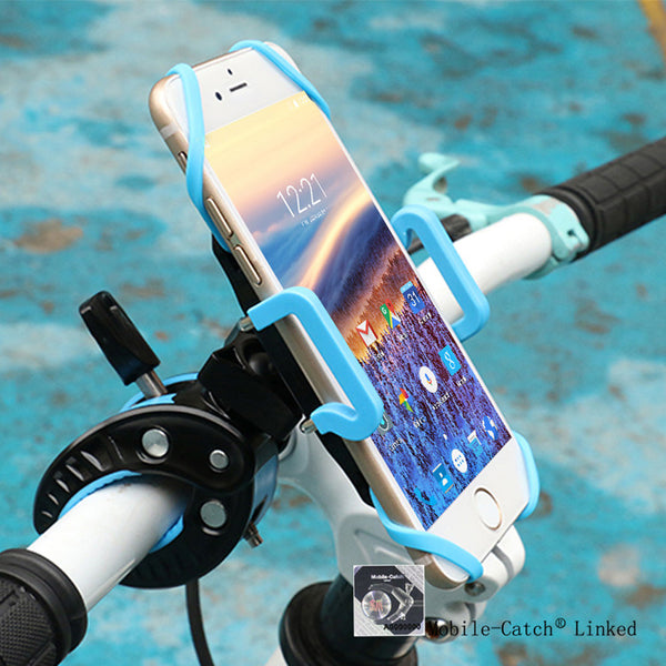 360 Degrees Rotation Bike Bicycle Motorcycle Phone Holder Stand Grip Holder for iPhone & Smartphone