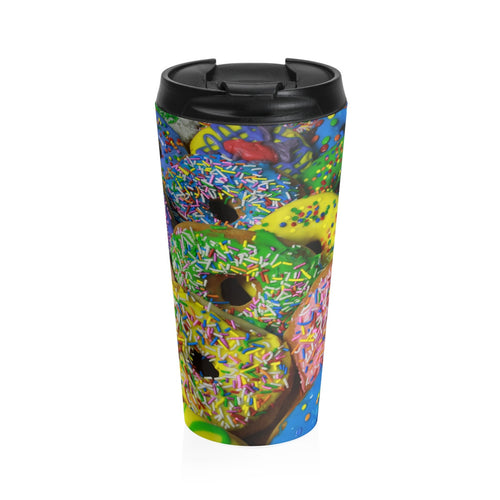 Dolicious Donuts Stainless Steel Travel Mug