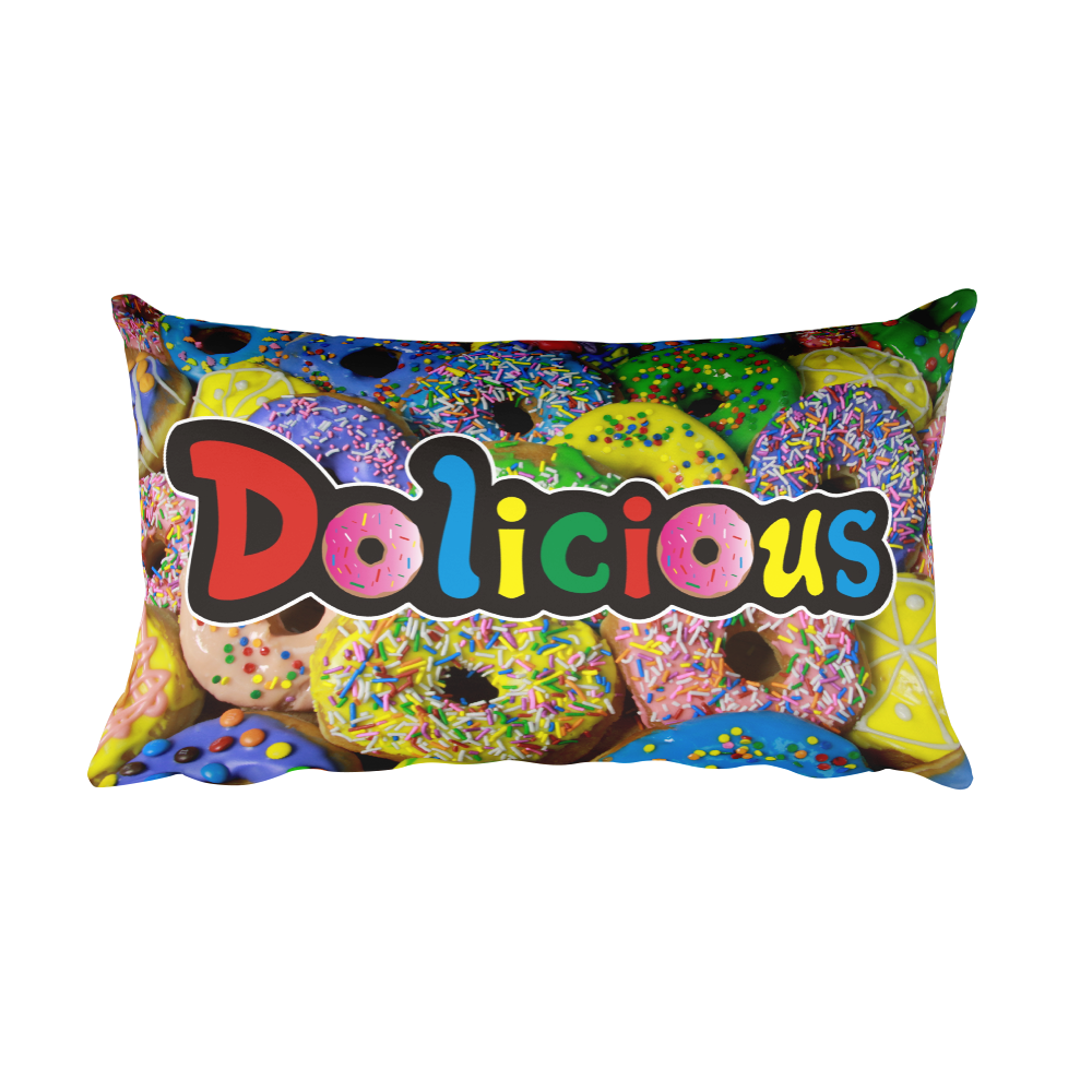Dolicious Rectangular Pillow