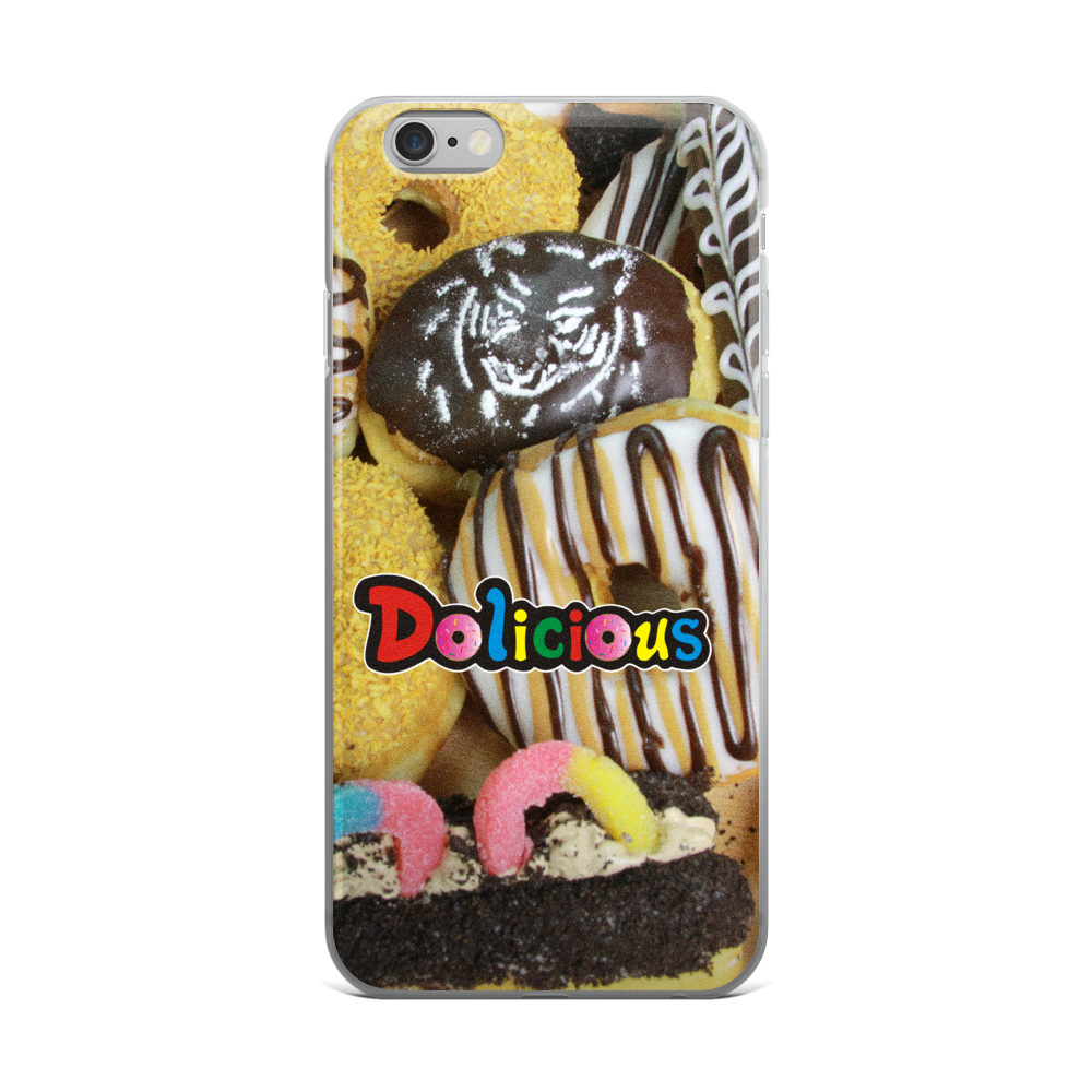 Tiger Spice Dolicious Donut iPhone 5/5s/Se, 6/6s, 6/6s Plus Case