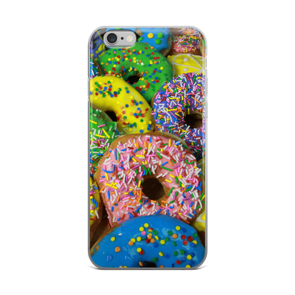 Dolicious Donuts Pink iPhone 5/5s/Se, 6/6s, 6/6s Plus Case
