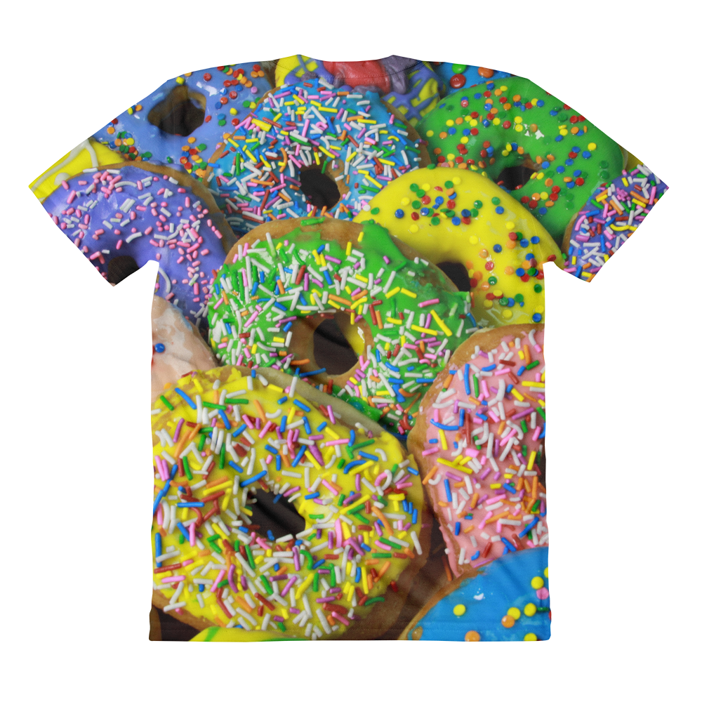 Dolicious Donuts women's crew neck t-shirt