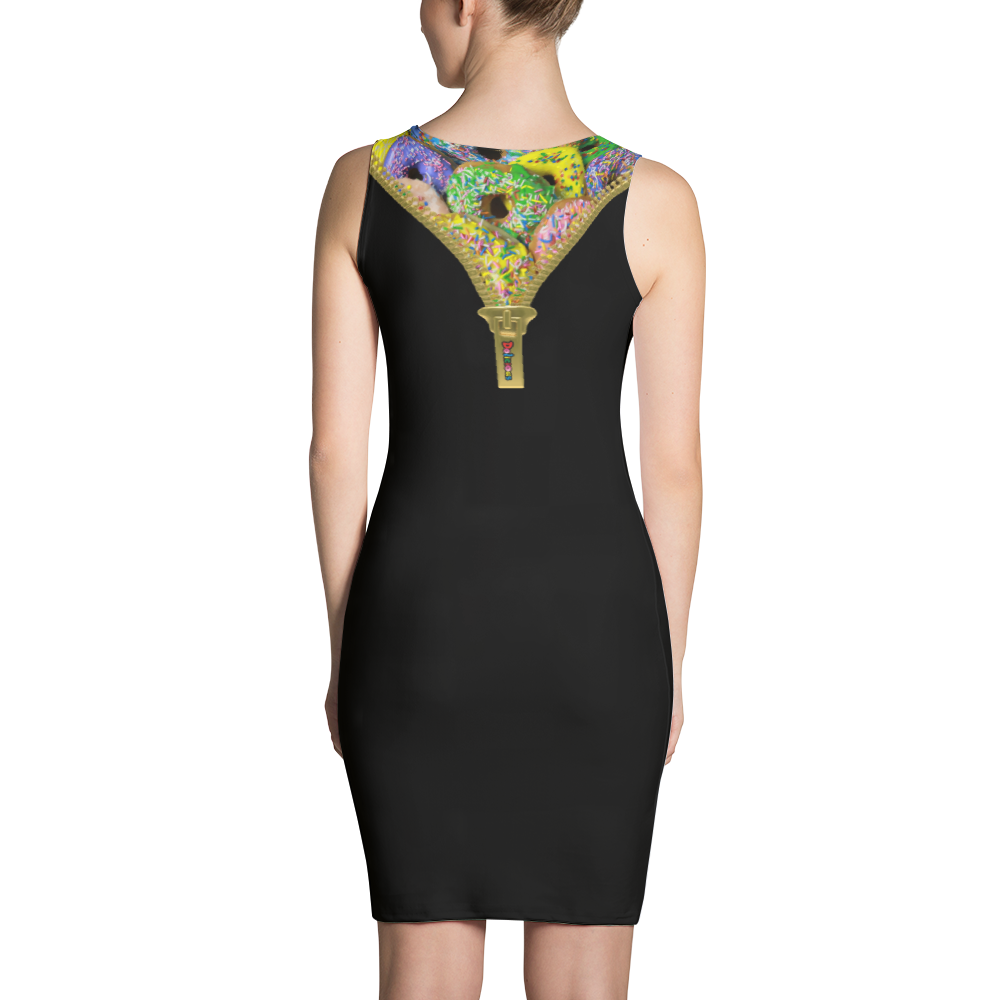 Dolicious Bodycon Cut & Sew Dress