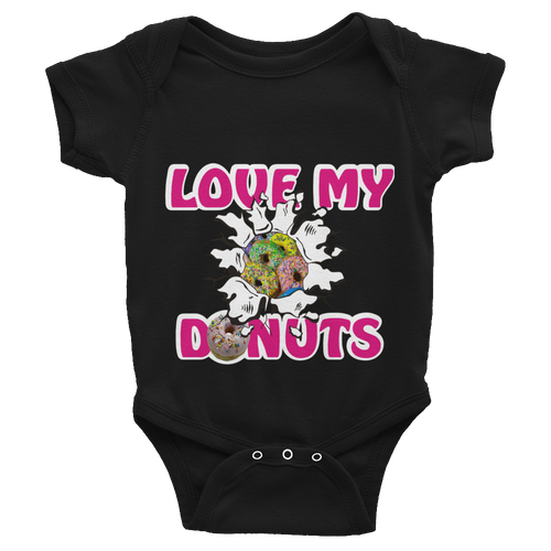 Love My Donuts Infant Bodysuit