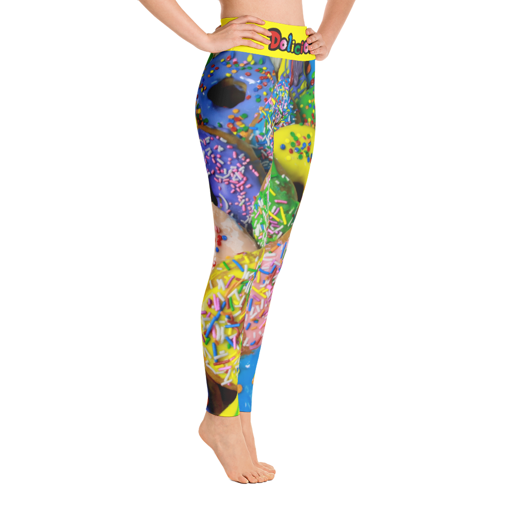 Dolicious Donuts Yoga Leggings