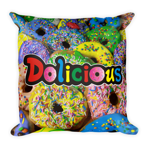 Dolicious Square Pillow