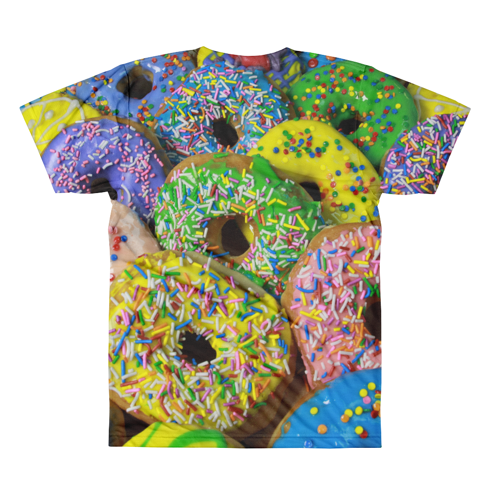 Love My Donuts men's crewneck t-shirt