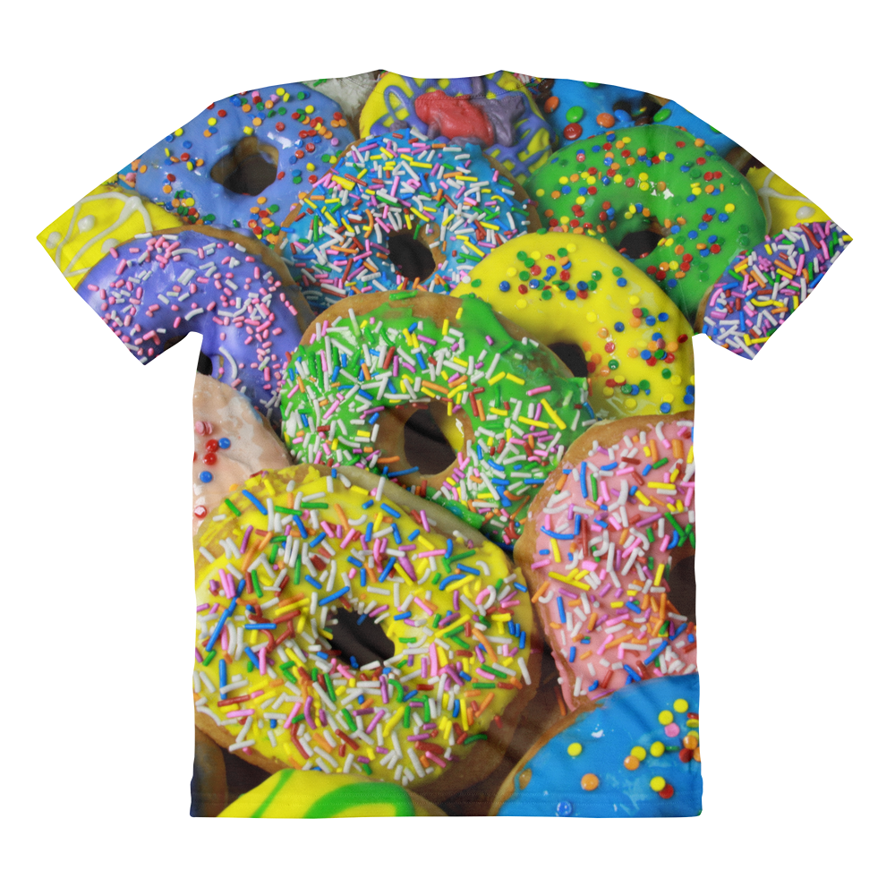 Love My Donuts women's crew neck t-shirt