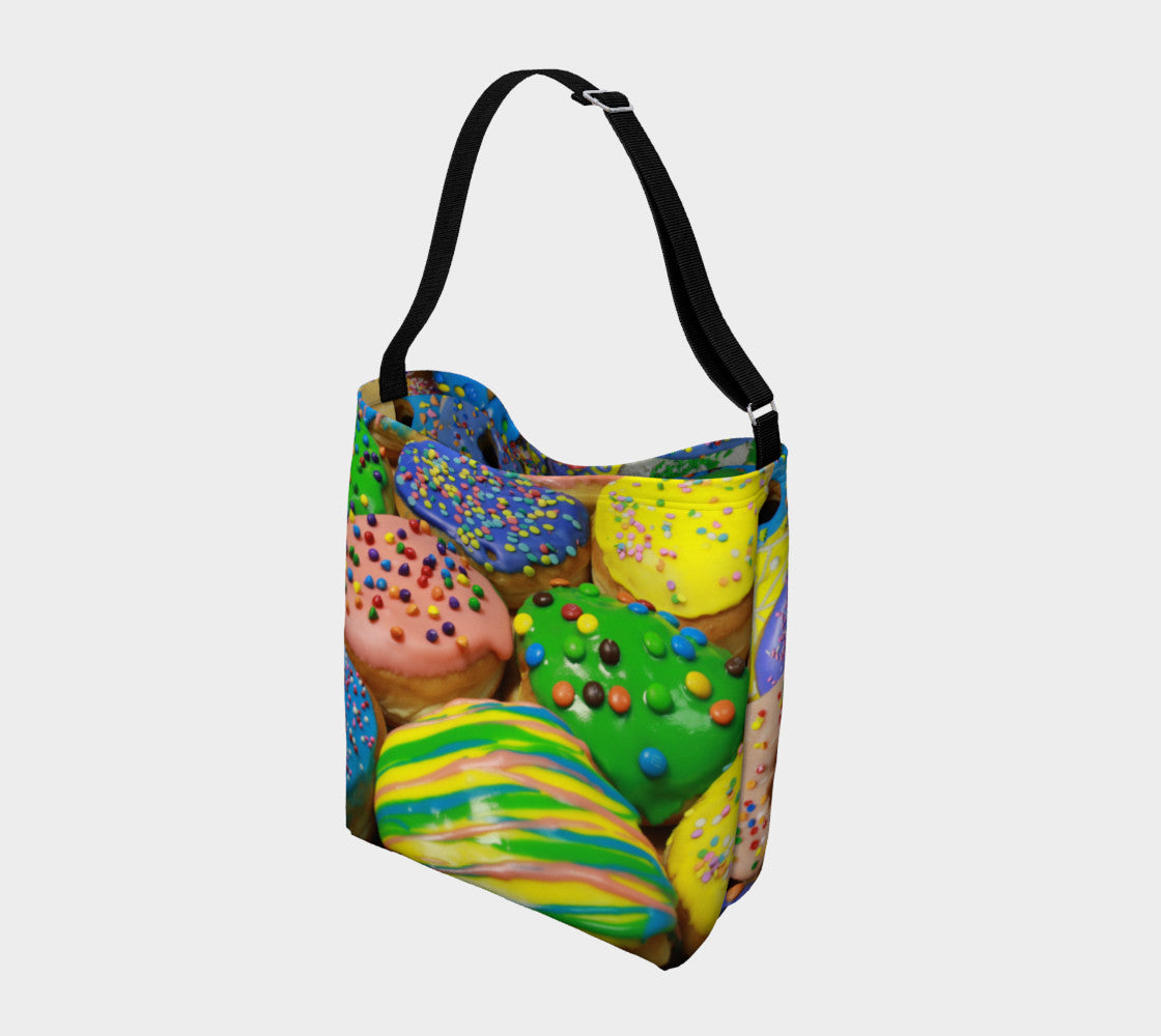 Canadian Donut Tote Bag