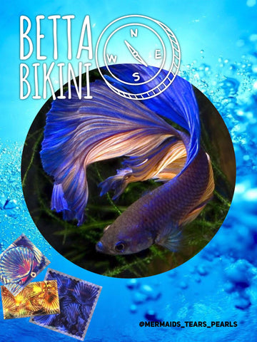 Betta Bikini Ocean Magic