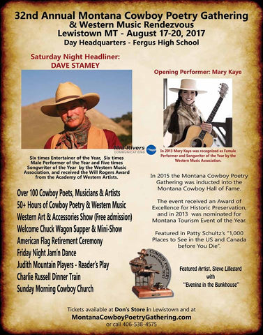 Montana Cowboy Poetry Gathering