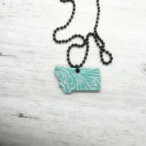 Montana Necklace, Turquoise