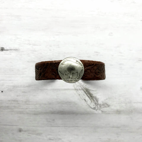 Buffalo Nickel Cuff