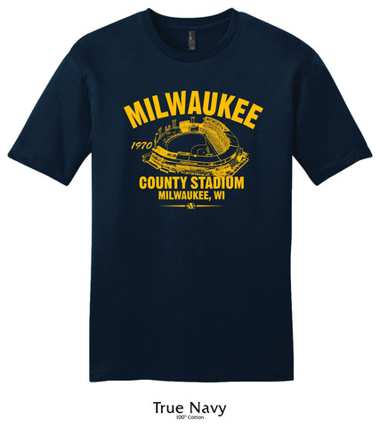 Milwakee County Stadium 1970 Milwaukee Brewers Collection