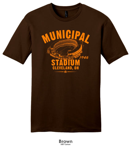 Municipal Stadium 1946 Cleveland Browns Collection